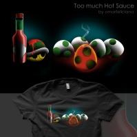 TooMuchHotSauce ShirtComp