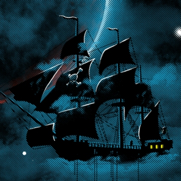 Pirate SpaceShip Detail B