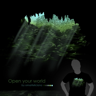 OpenYourWorld ShirtComp