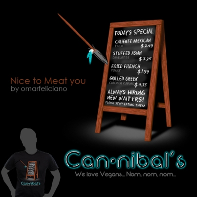 Cannibals ShirtComp