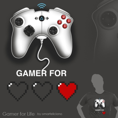 GamerForLife ShirtComp