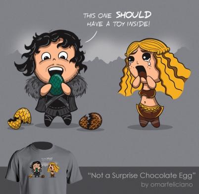 NotASurpriseChocolateEgg ShirtComp