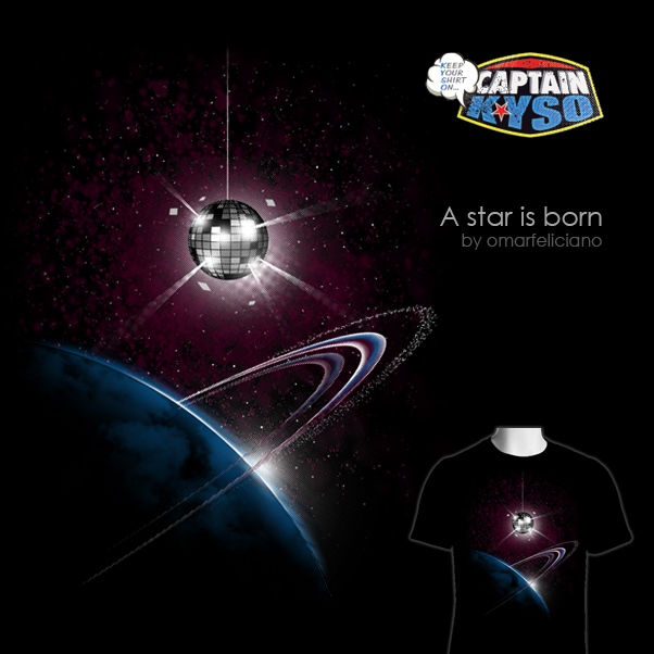 DiscoMoon ShirtComp CaptainKYSO