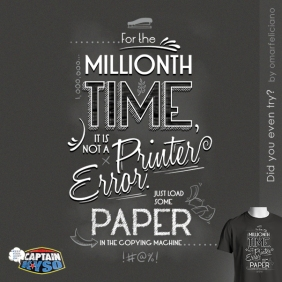 PrinterError CaptainKYSO ShirtComp