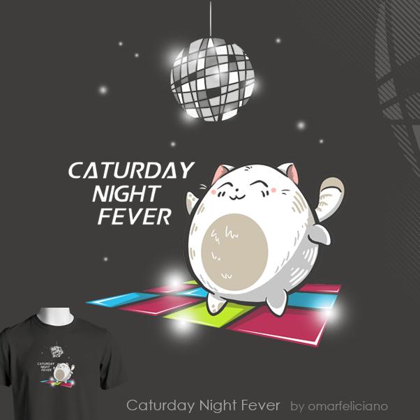 Caturday Night Fever