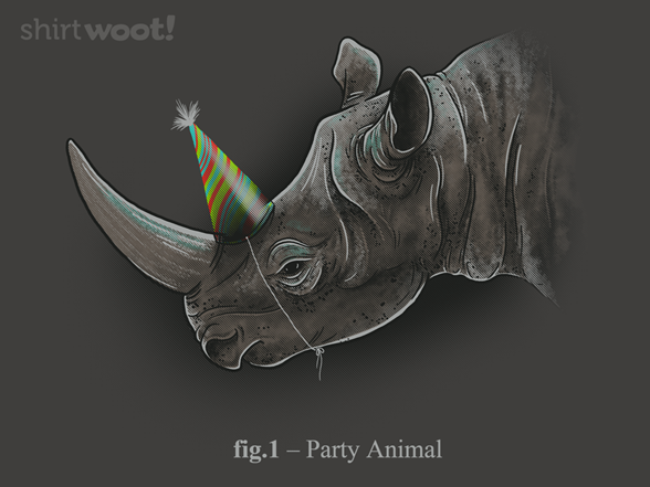 Party Animal @Shirt.Woot full