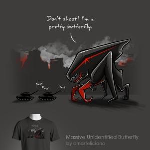 Massive Unidentified Butterfly